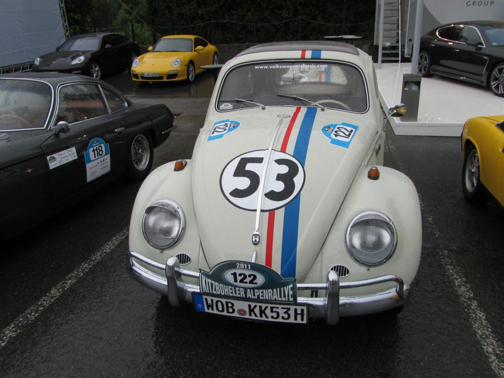 "Oldtimer Käfer ""Herbie"" bei der Kitzbühler Alpenrally"