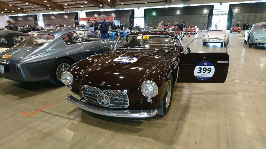 Oldtimer Maserati bei der Mille Miglia